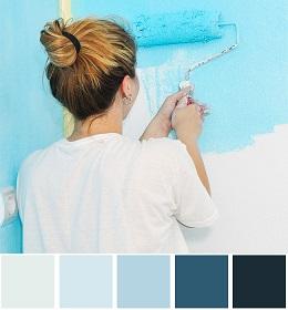 Năm 2017 nên sơn nhà màu nào