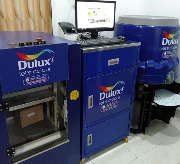 Máy pha màu sơn Dulux